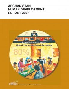 Afghan Human Development Report Cover